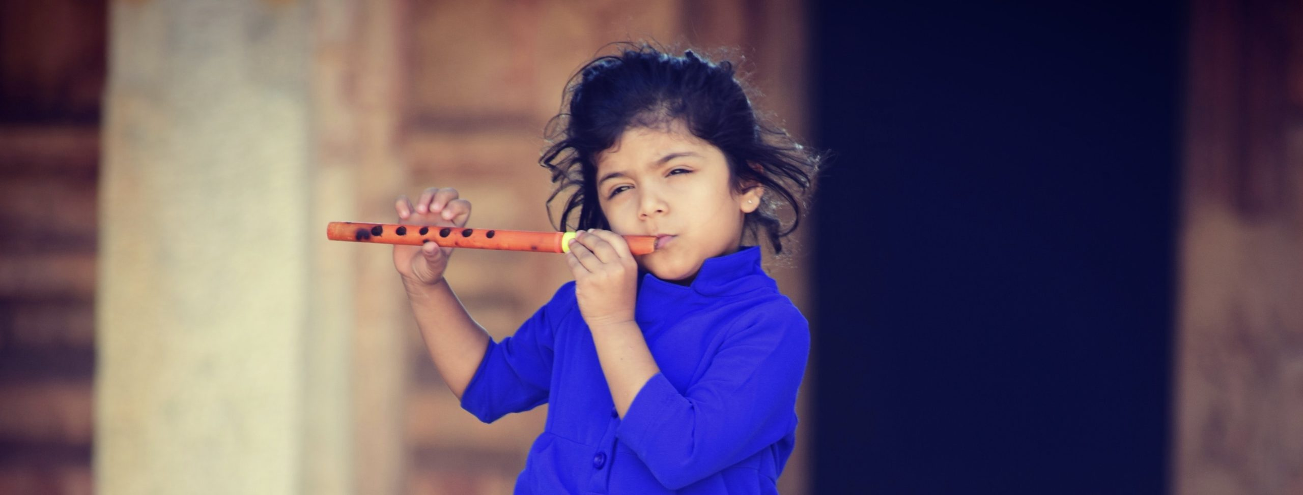 enfant flute