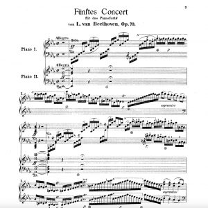 Concerto de l'Empereur de Beethoven dégustation musicale adlibitum Julien Gernay
